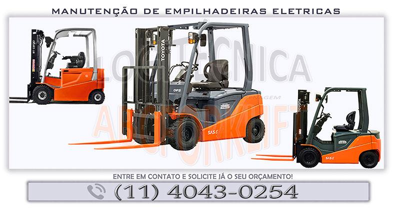 Manutenção de empilhadeiras elétricas