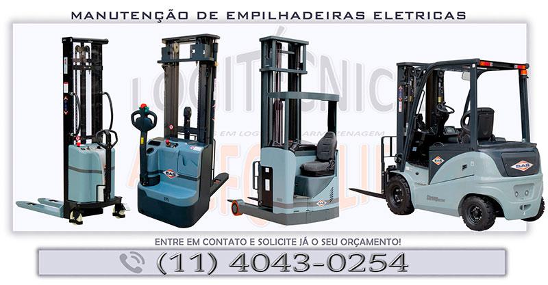 Manutenção de empilhadeiras elétricas sp