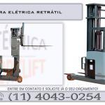 Empilhadeira elétrica retrátil preço